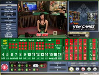 Sicbo 1S Casino