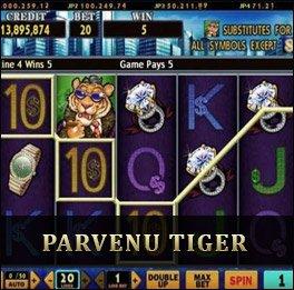 Parvenu Tiger เกมไทเกอร์ Gclub Slot