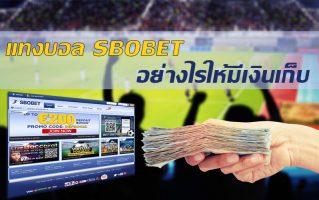 แทงบอล Sbobet ให้มีเงินเก็บ