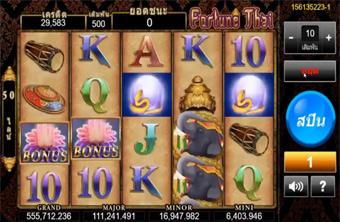 Fortune Thai Slot เกมสล็อตไทฟอร์จูน