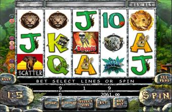 JUNGLE SLOT เกมส์สัตว์ป่า