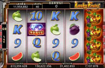 Lucky Fruit Slot สล็อตผลไม้โชคดี