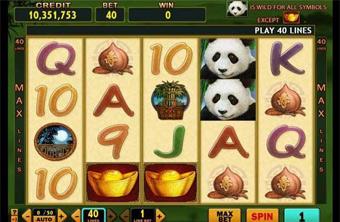 Lucky Panda Slot เกมสล็อตหมีแพนด้า